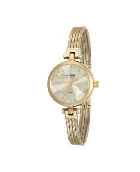 Relógio Seculus Aço Dourado Feminino
