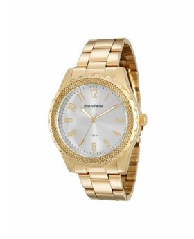 Relógio Mondaine Feminino Aço Dourado